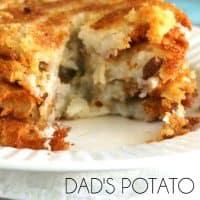 Dad's Potato Pancakes | Bread Booze Bacon