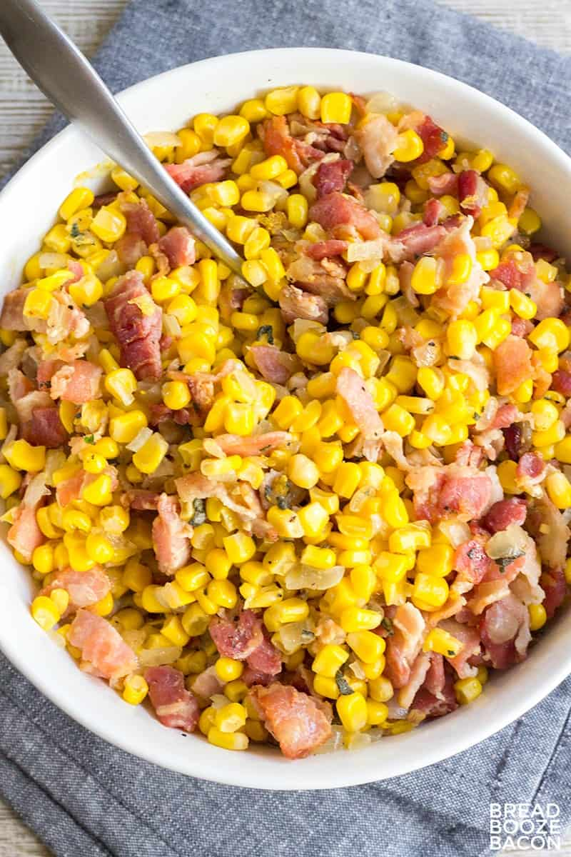 Bacon Corn Relish is my most requested side dish EVER! It's crazy easy to make and there are never leftovers!