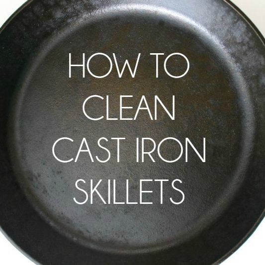 how to clean cast iron skillets bread booze bacon. Black Bedroom Furniture Sets. Home Design Ideas