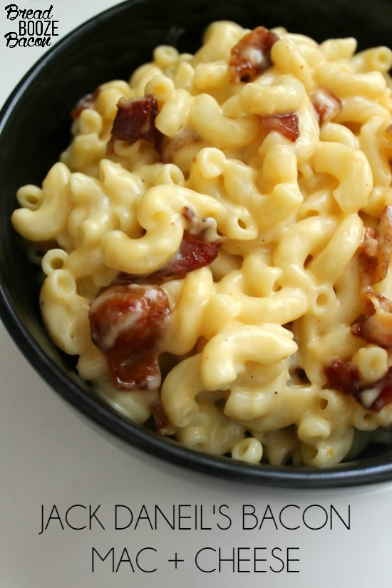 Whiskey and bacon come together for a killer pasta dish in this Jack Daniel's Bacon Mac and Cheese!