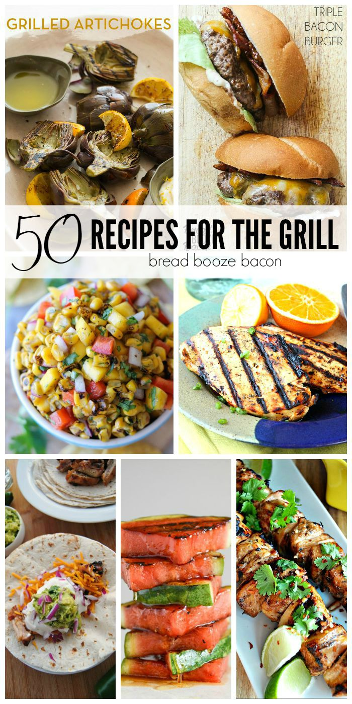 Summer is made for grilling and showing off your mad skills at taming the flame! These 50 Recipes for the Grill  are sure to impress (and are actually pretty darn easy!) and will make everyone think you're the grill master!