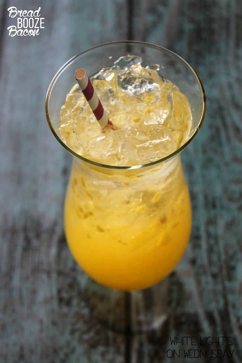 Serve up a pitcher of my Mango Moscato Spritzer at your next party and watch it disappear!