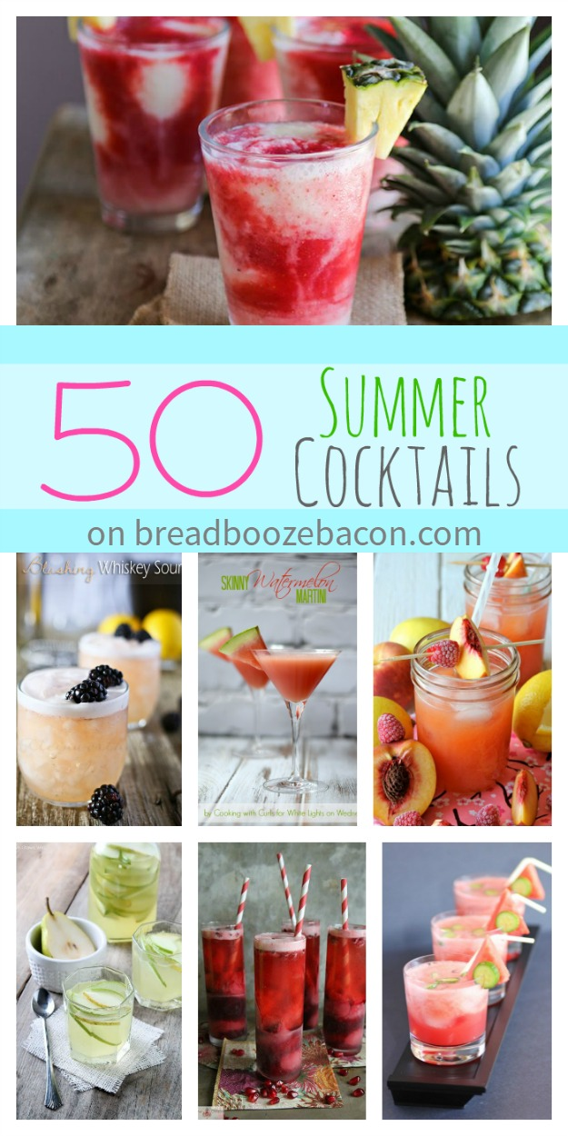 50 Summer Cocktails | Bread Booze Bacon