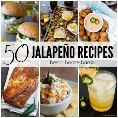 Add a little spice to your life with these 50 Jalapeño Recipes! We've got everything from ice cream and margaritas to burgers and dip. Indulge your love of jalapeños and get spicy!