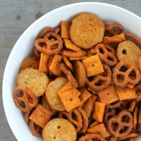 Buffalo Ranch Snack Mix | Bread Booze Bacon