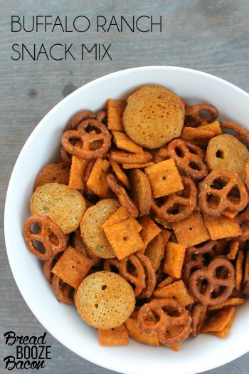 Buffalo Ranch Snack Mix | Bread Booze Bacon
