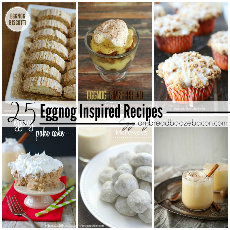 25 Eggnog Inspired Recipes