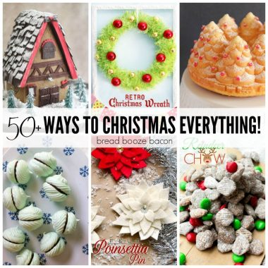 Deck the halls with these fab 50+ Ways to Christmas Everything! You'll find everything from cookies and crafts to decor and drinks to help make your holiday extra special!