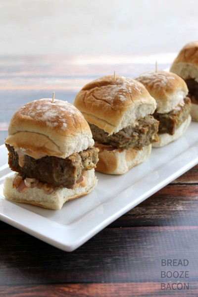 Meatloaf Sliders 4