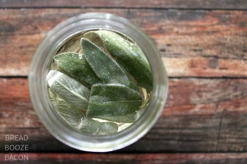 Give your regular old cocktail a major face lift with Sage Simple Syrup!