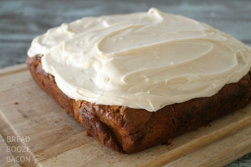 White Chocolate Chip Gingerbread with Cream Cheese Frosting - Bread ...