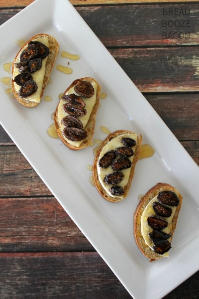 Fig, Honey & Brie Bruschetta 1