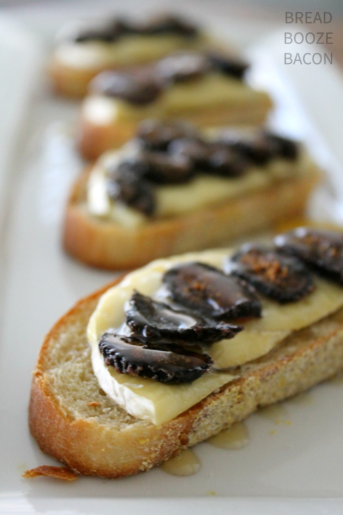 Honey, Fig & Brie Bruschetta is a fabulous flavor combination that's sure to wow your dinner guests!