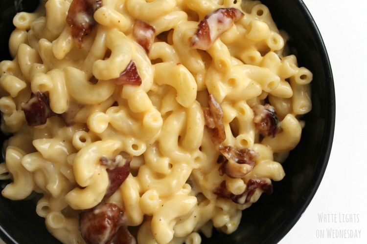 Jack Daniel's Bacon Mac and Cheese | Bread Booze Bacon