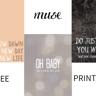 Muse Printables FEAT