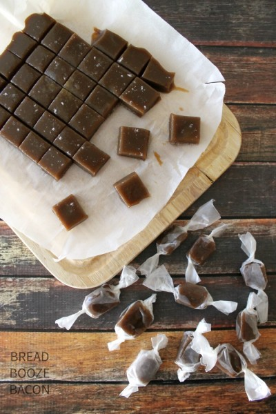 Salted Butter Rum Caramels 1