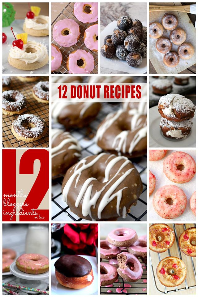 12 Bloggers Donuts