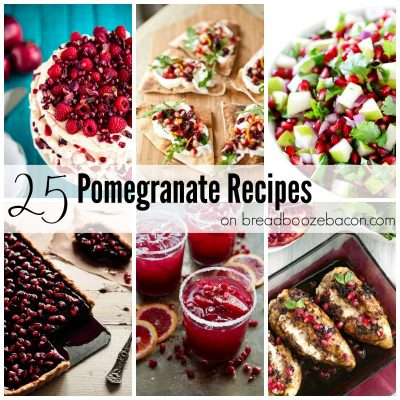 25 Pomegranate Recipes FEAT