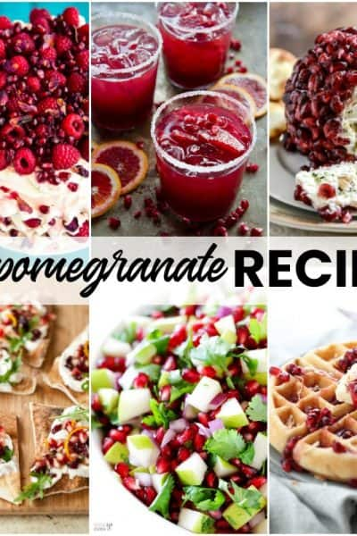 25 Pomegranate Recipes