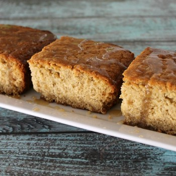 Oatmeal Cake with Maple Glaze 1
