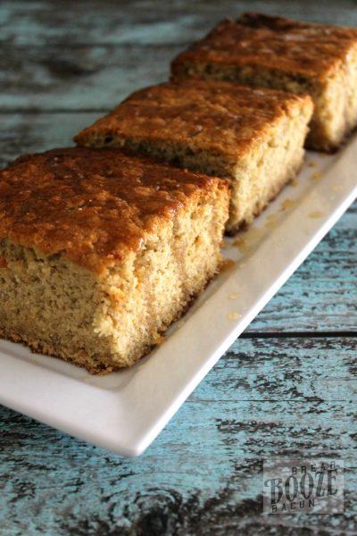 Oatmeal Cake with Maple Glaze 3