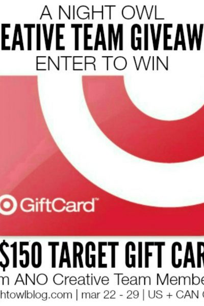 $150 Target Gift Card Giveaway [CLOSED]