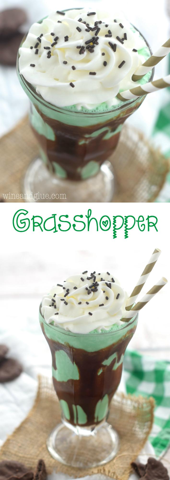 Grasshopper | Wine & Glue for Bread Booze Bacon
