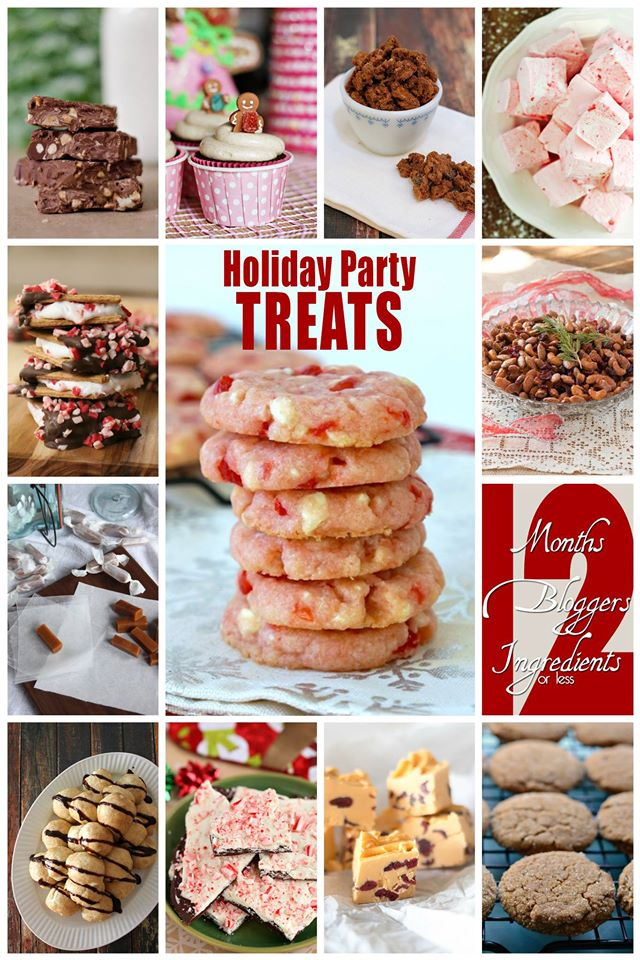 12 Holiday Party Treats | Bread Booze Bacon #12Bloggers