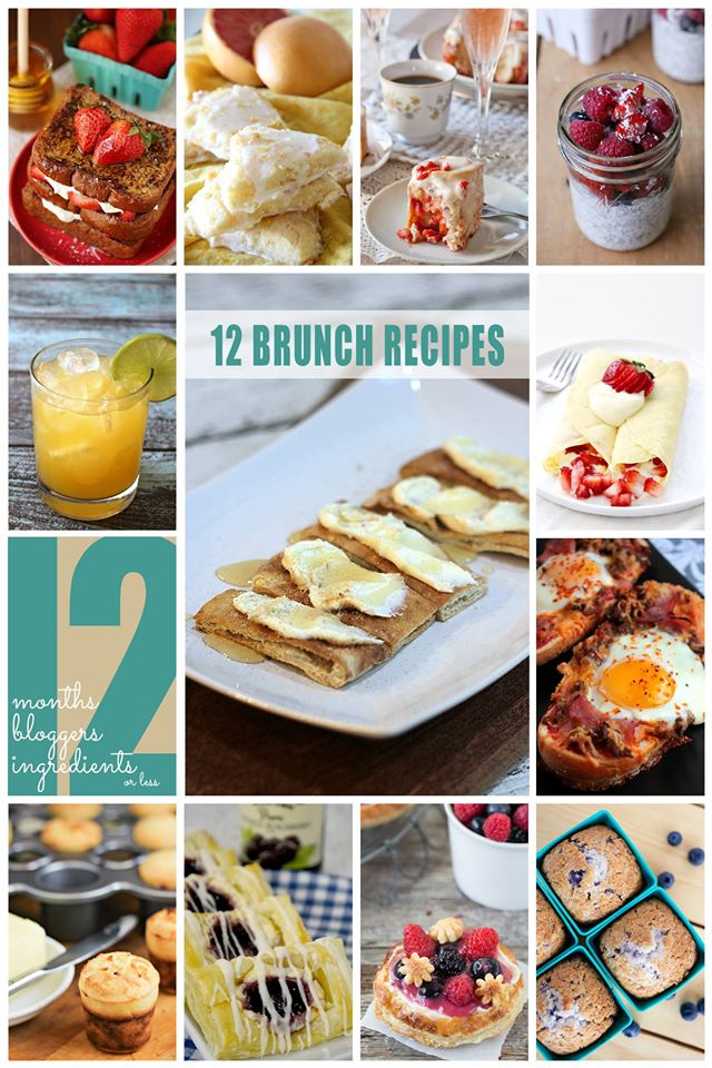 12 Brunch Recipes | Bread Booze Bacon #12Bloggers