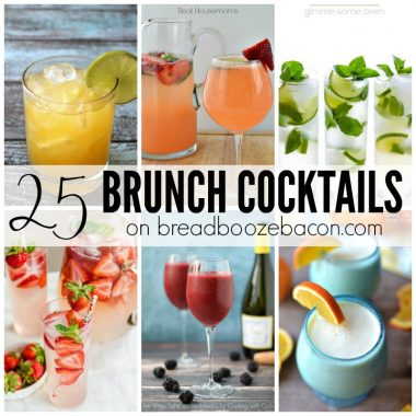 Brunch without booze is a sad, late breakfast. So let's grab a drink from these 25 Brunch Cocktails and day drink!