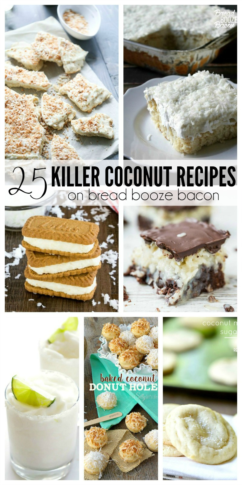 Coconut is one of my favorite flavors, especially around summer time. Pair it with some lime or chocolate, or let it's own fabulous flavor shine through! No matter how you like your coconut, these 25 Killer Coconut Recipes will satisfy your craving!