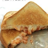 Grilled Cheese Alla Vodka | Bread Booze Bacon