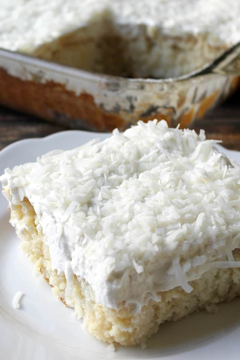 Dreamy Coconut Cake Recipe