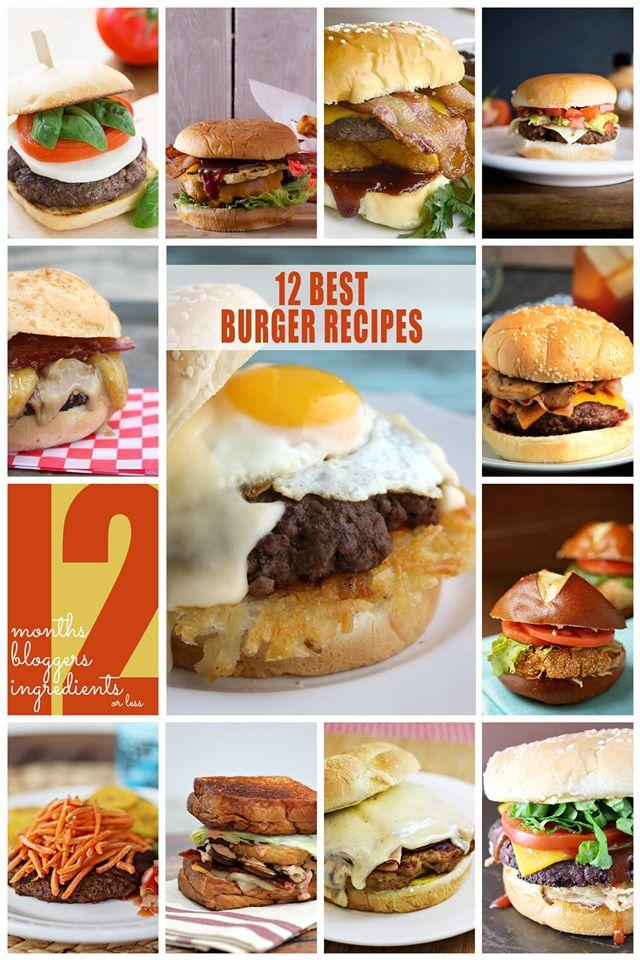 12 Bloggers 2015 Burgers