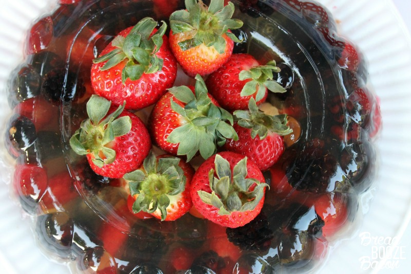 Fizzy Berries Jello Mold is a vintage throw back perfect for serving your summer crowd!