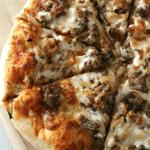 Italian Sausage + Caramelized Onion Pizza | Bread Booze Bacon