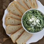Spinach and Artichoke White Bean Dip