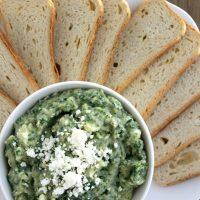 Spinach and Artichoke White Bean Dip | Bread Booze Bacon
