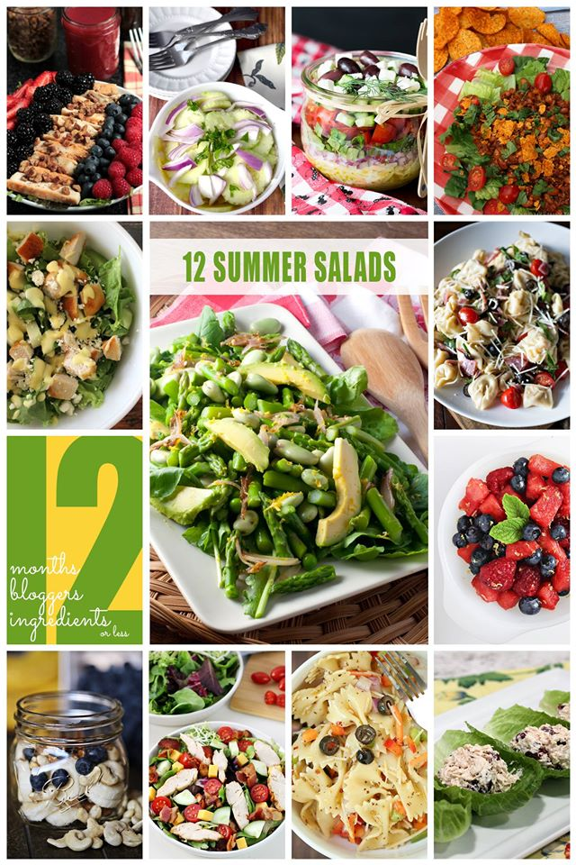 12 Bloggers: Summer Salads| Bread Booze Bacon #12bloggers