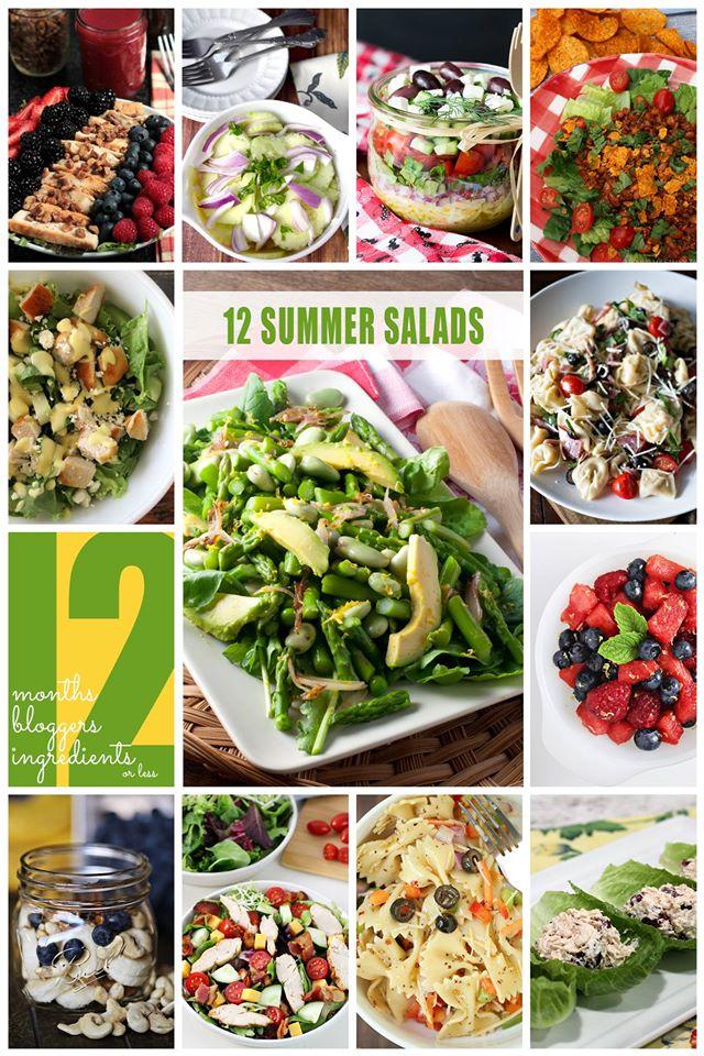 12 Bloggers: Summer Salads| Bread Booze Bacon #12bloggers