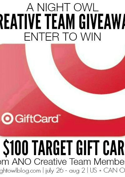 $100 Target Gift Card Giveaway [CLOSED]
