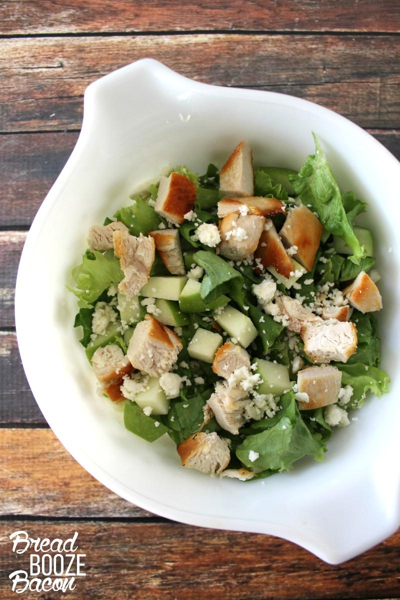 Apple Chicken and Feta Salad 1 - Bread Booze Bacon