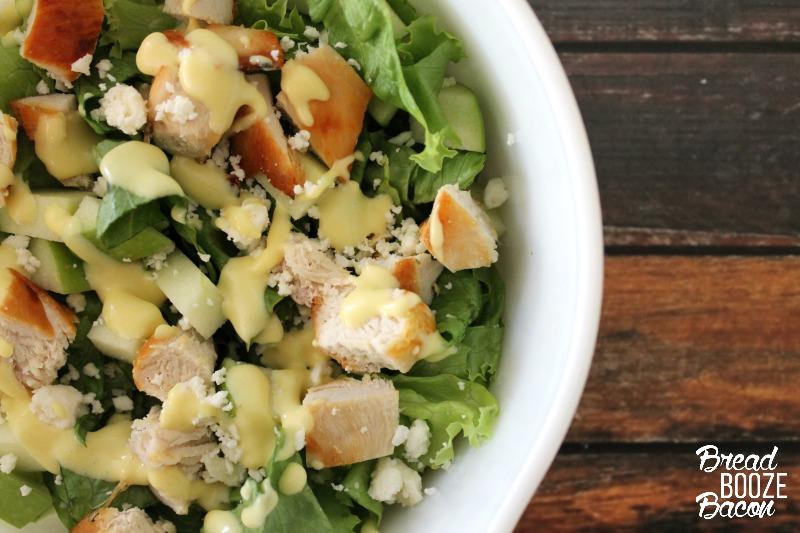 Crispy Chicken And Apple Salad Recipe — Dishmaps