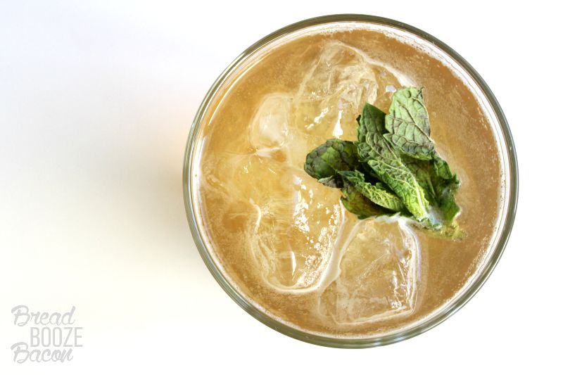 Get a little end of the day nirvana with our Enlighten-Mint Cocktail!