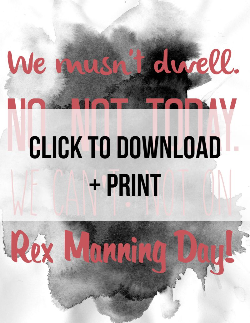 Rex Manning Day preview