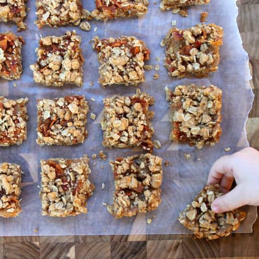 Apple Bacon Oat Bars | Bread Booze Bacon