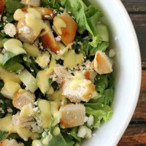 Apple Chicken and Feta Salad | Bread Booze Bacon