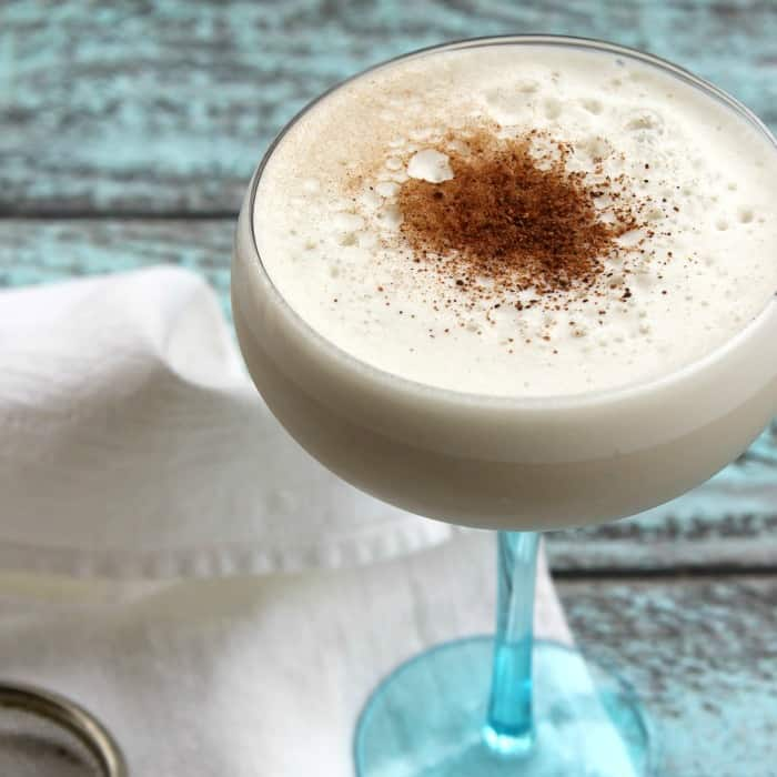 Bourbon Milk Punch | Bread Booze Bacon