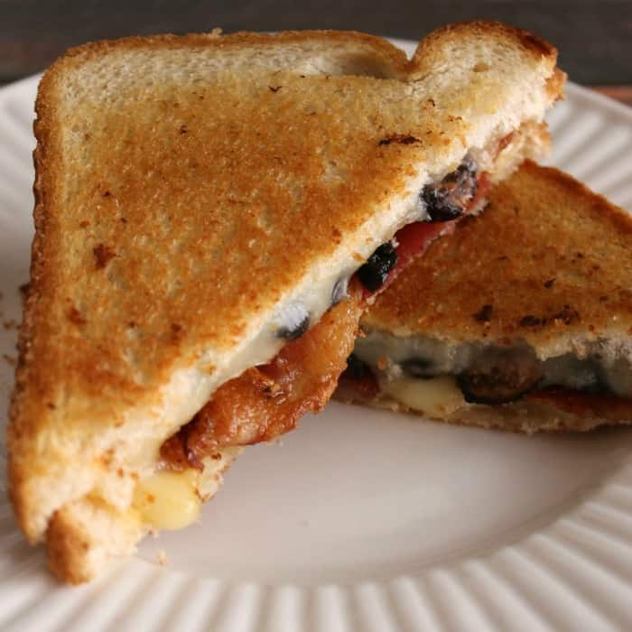 Fig + Bacon Grilled Cheese
