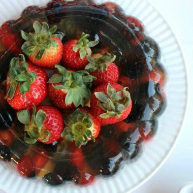 Fizzy Berries Jello Mold | Bread Booze Bacon